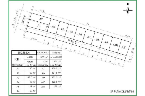 Rp480jt Tanah Dijual