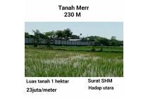 Dijual Tanah merr Surabaya cocok untuk gudang luas