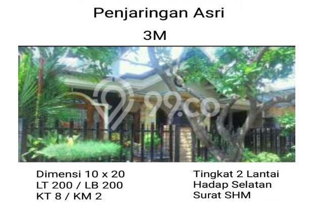 Rumah penjaringan asri siap huni mewah 13231212