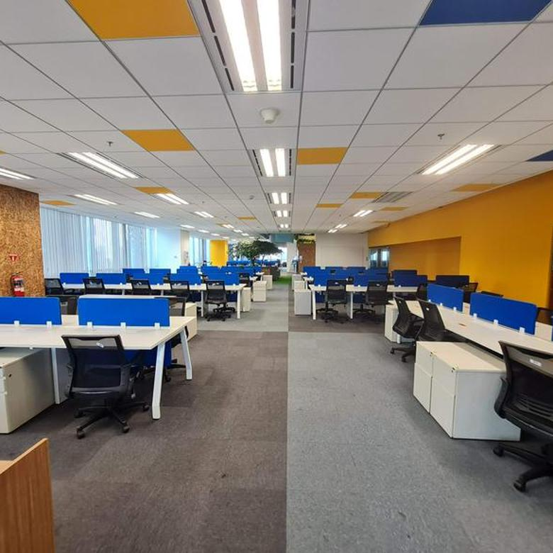 2.200sqm Fully Furnish Office at Pakuwon Tower Kota Kasablanka