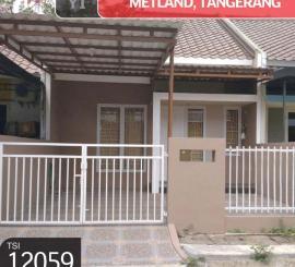 Rumah Metland, Tangerang, 6x15m, 1 Lt
