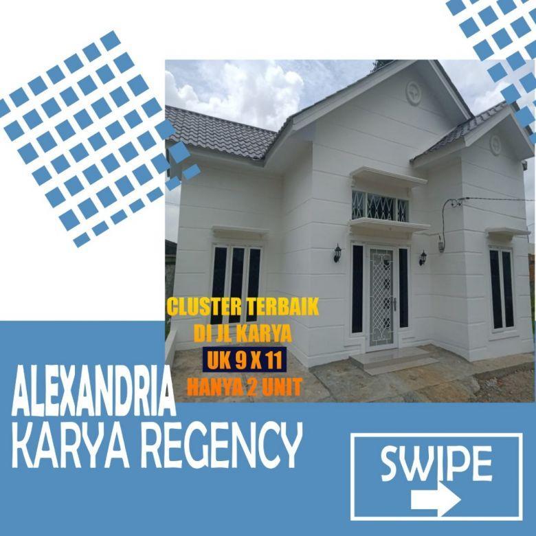 Dijual Rumah Alexandria Karya Regency