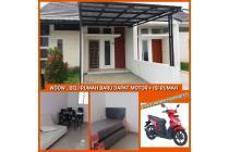 Rumah Murah dekat Tol Buahbatu dan Univ. Telkom, Bonus Motor tanpa diundi