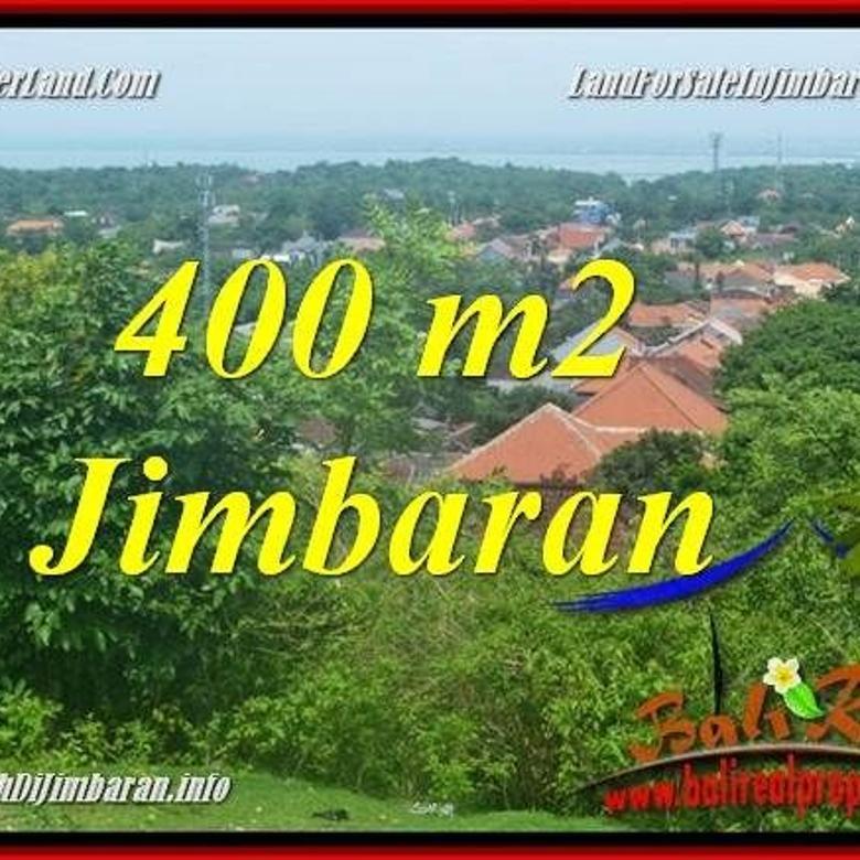 TANAH JUAL MURAH  JIMBARAN 400 m2  Lingkungan Villa, View laut