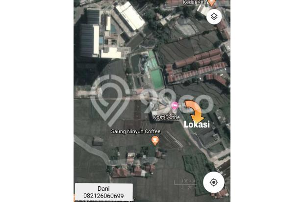 Tanah 831 m Dijual cepat Murah, Di Jatinangor, 21467857