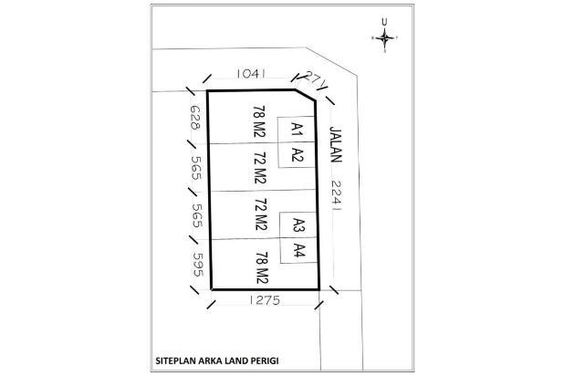 Kapling Tanah di Sawangan, 12 X Angsuran Bebas Bunga 16577355