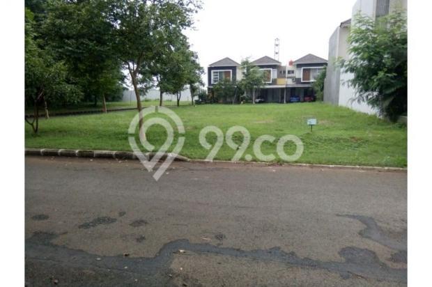 Dijual kavling 637 m2 dapat manfaat 1000 m2 view taman 5454320