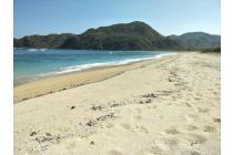 Tanah pinggir pantai di Tampah Lancing dekat Kuta Lombok