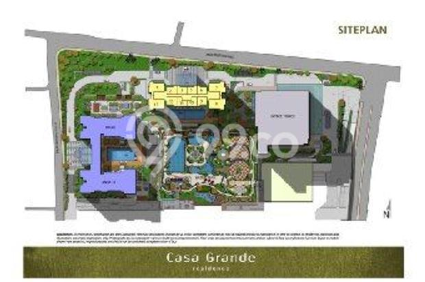Dijual Apartemen Casa Grande Residence Phase 2 2BR (New Tower Chianti) 17071392
