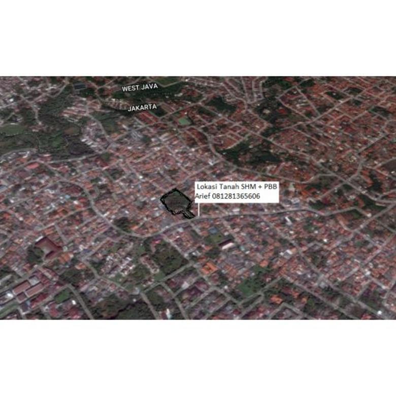 Tanah Strategis 3388mtr di Cibubur Jakarta Timur