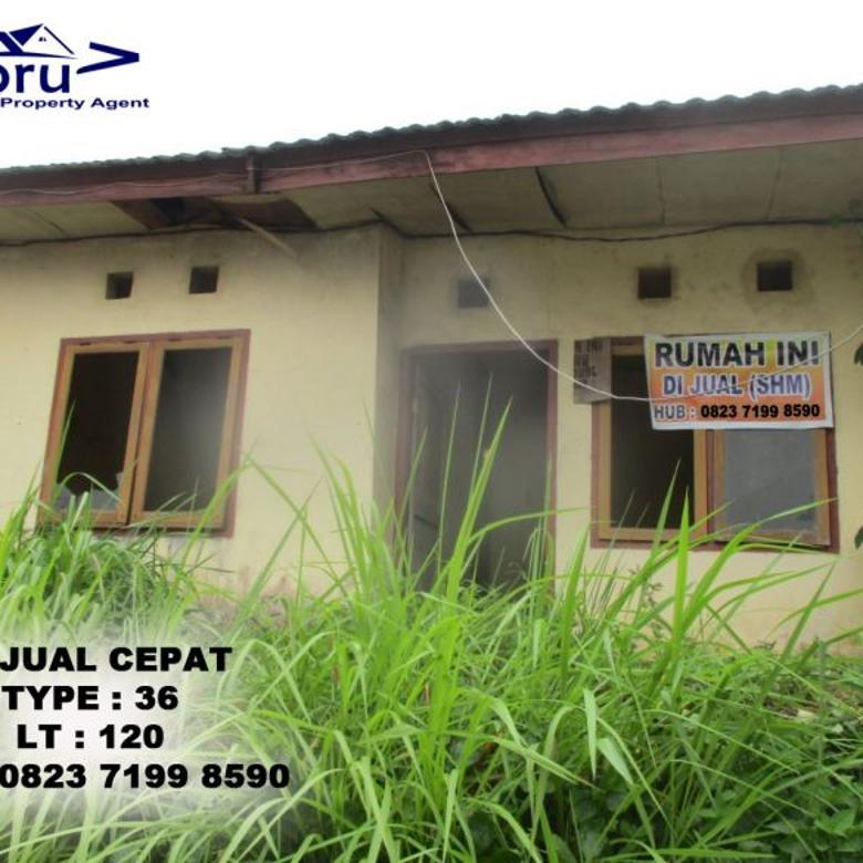 Rumah type 36 Lokasi Mayang