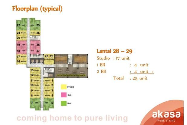 Rp778jt Apartemen Dijual