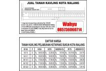 Dijual Tanah Kavling Kota Malang Istimewa