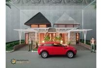 Rumah semi villa view bagus bebas banjir skema syariah di Cimahi