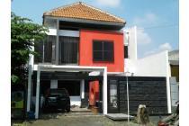 Rumah berkonsep modern siap huni di sawojajar Malang