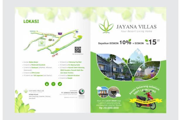 Rumah minimalis sangat bagus murah,Jayana Villas Cibinong 4426894