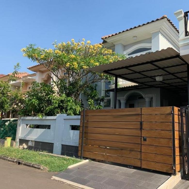 Rumah Siap Huni, Semi Furnish di Puspita Loka, BSD