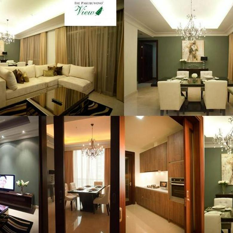 Apartemen Pakubuwono View 2BR uk.140m2 Furnished  Elegant at Keb.Lama Jakarta Selatan