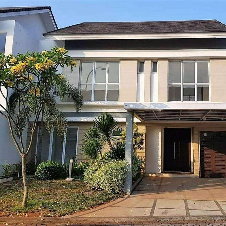 Rumah 2 lantai siap huni 12x20 240m Type 4KT Cluster Palm Spring JGC Jakarta Garden City Cakung