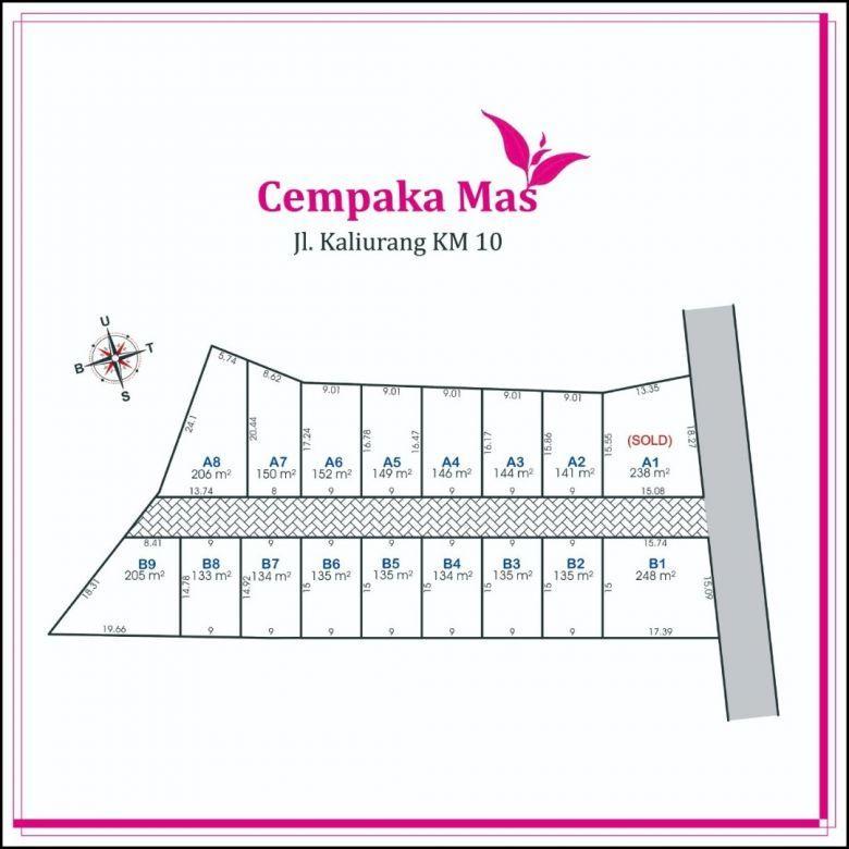 Tanah Perumahan Sleman Area Jakal KM 9, Include Pagar Keliling