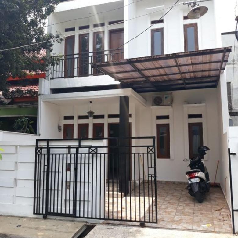 Dijual Rumah Baru Minimalis Murah di Kavling DKI, Jaktim