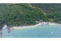 Tanah pantai di membalong, belitung selatan