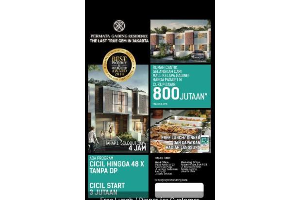Rp824jt Rumah Dijual