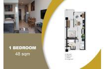 Bekasi Apartment MGold Tower (1 BR - 48m)