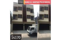Ruko Jl. Kapuk Pulo Raya, Jakarta Barat, 5x15m, 3½ Lt, SHM