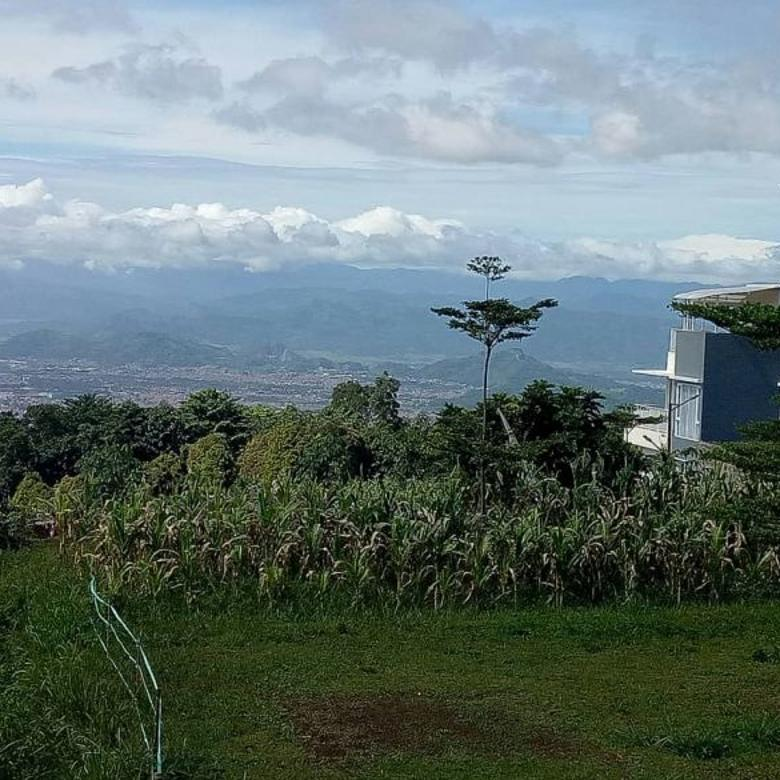 Dijual rumah valle verde view pegunungan di cisarua bandung