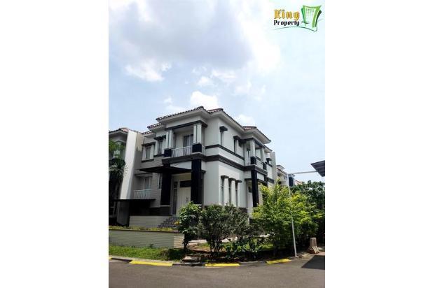 Rumah Mewah Furnish 3 lt Puri Mansion Hook LB 317m2 Boulevard FengSui Bagus