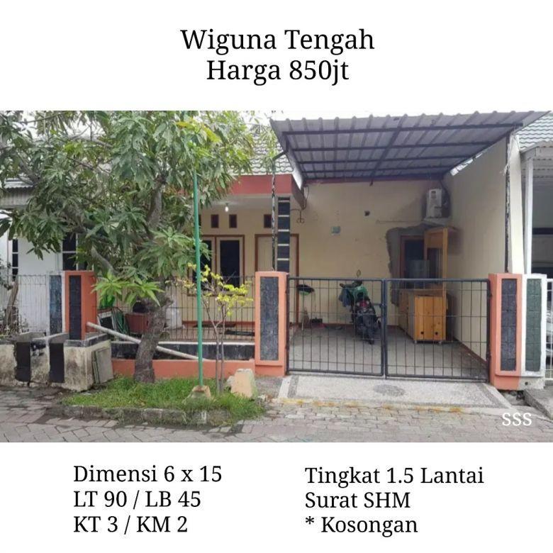 Rumah Wiguna Tengah Siap Huni bs KPR Nego SHM dkt Rungkut MERR