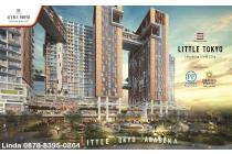 Apartemen LITTLE TOKYO @ Jababeka Cikarang,Smart Investasi,Harga 470 Jt-an