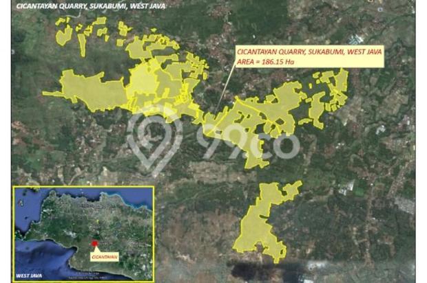 DIJUAL Tanah dengan Kandungan Silica di Lokasi Strategis. 12747249