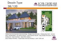 Dijual Rumah Villa Minimalis Tipe 38/120 di Royal Orchid Villa, Cimahi