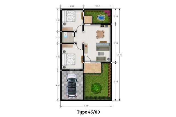 Rp447jt Rumah Dijual