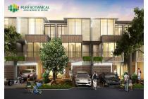 Puri Botanical Rumah 3 Lantai Dalam Cluster Samping Mall & Toll