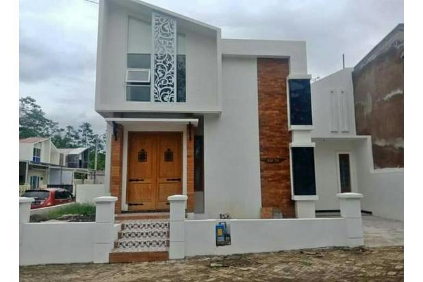 rumah modern nuansa villa kota malang