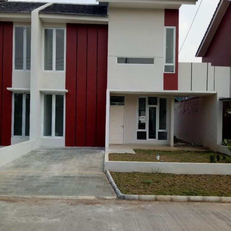 rumah asri dan nyaman di cluster dekat pintu tol tambun selatan, bekasi