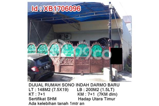 DIJUAL RUMAH SONO INDAH DARMO BARU 13245500