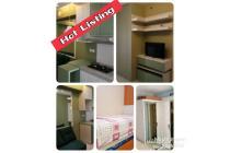 Bassura City 2BR furnished perabot lengkap apartemen Jakarta