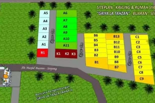 Rp85,5jt Tanah Dijual
