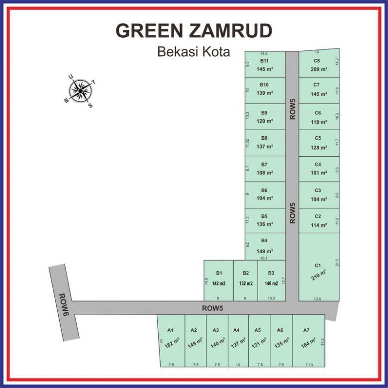 Tanah Dijual Dekat Binus School Bekasi, Diskon 25%