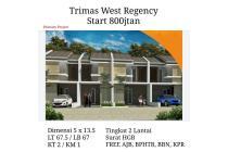 Rumah Baru Trimas West Regency Surabaya Barat Dekat Citraland