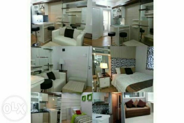 Green pramuka city - unit full furnish 2 kamar harga murah 14546639