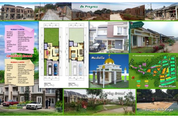 Rp781jt Rumah Dijual